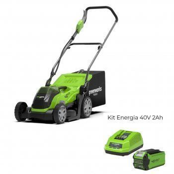 Foto - Rasaerba a batteria G40LM35 con Kit Energia 40V 2Ah Greenworks